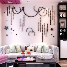2020 Kids Bedroom Stars Wall Stikers Modern Home Decor Wall Sticker Decals Living Room Tv Background 3d Acrylic Wallpaper Mural From Familyflooring 109 55 Dhgate Com