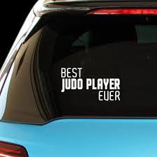 Amazon Com Pressfans Best Judo Player Ever Car Laptop Wall Sticker Automotive