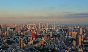Cityscape Of Tokyo Japan Sticker Wall Decals Wallsheaven Phuong