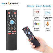 Voice Remote Control Air Mouse 2.4G Wireless Control For Android TV Box  Google Netflix Youtube Universal Roku Remote Control|
