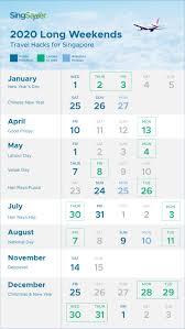 Singapore Public Holidays 2020 & Long ...