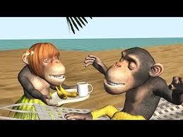 funny good morning song monkeys