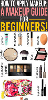 how to apply makeup a makeup guide for