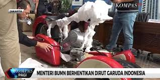 garuda airline ceo fired over claims he smuggled harley bike on