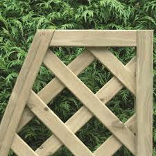 Convex Diamond Trellis Lattice Pressure Treated Free Delivery Available