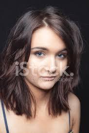 blue e age with dark hair