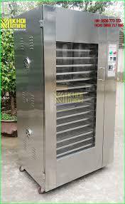 Máy sấy nông sản công nghiệp Khôi Minh: vỏ inox 2 lớp, sấy khô nhanh