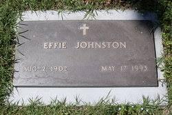 Effie Johnston (1902-1993) - Find A Grave Memorial