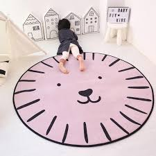 Round Rug Play Mat Room Decor Fashion For Your Kids