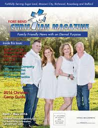 fort bend christian magazine april