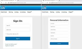 fake citibank