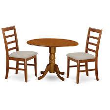 shaker drop leaf dinette dining table