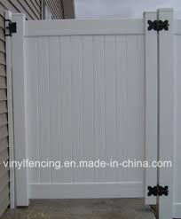 China Vinyl Privacy Fence Gate China American Design Pvc Fence Pool Fence