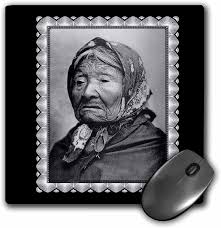 3dRose Mouse Pad Princess Angeline, 1896 Taken by Edward S. Curtis  Photograph of an Older Woman Wearing A Scarf - 8 by 8-Inches (mp_160815_1):  Amazon.co.uk: Office Products
