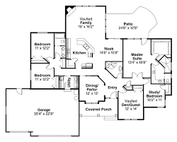 house plan 69137 one story style with