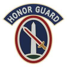Csib Sticker Military District Of Wa Honor Guard Usamm