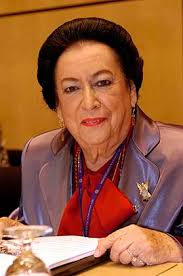 Mrs. Hilda Anderson (Mexico), Vice-President of the ILC ...