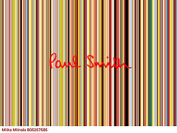 Paul Smith brand analysis by Miika Miinala