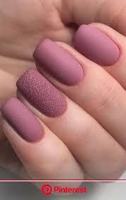 matte nails design for short nails