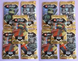 Lego Ninjago Series 4 Trading Card Game, 10 Booster, ovp., NEW ...