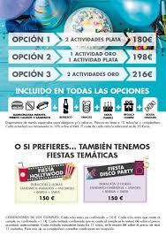 Cumpleanos Y Fiestas Infantiles Espacio Deportivo La Garena