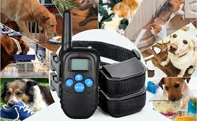 Powmr Wireless Electric Dog Fence For 2 Dogspet Containment System Shock Collars Dogs Radio Wireless Fences