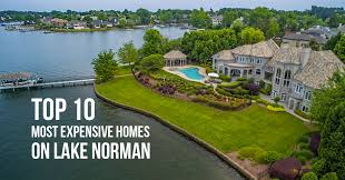 top 10 most expensive homes on lake