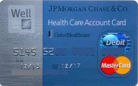 bank card jp morgan chase health care