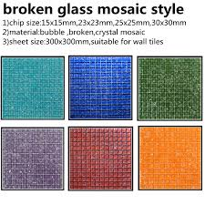 ice le glass mosaic tile marble