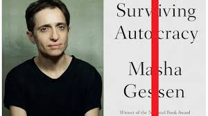 Masha Gessen book, ''Surviving Autocracy,' coming in June. - ABC News