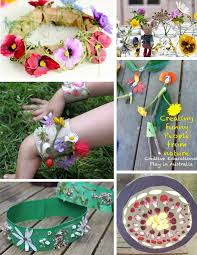 50 fabulous flower crafts for kids | The Craft Train