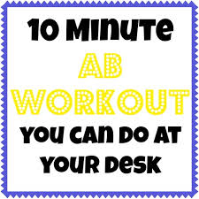 10 minute workouts you can do at your