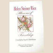 friendship by helen steiner rice