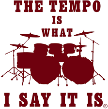 Amazon Com The Tempo Is What I Say It Is A Indoor Music Wall Decal A Drum Set Wall Decal Distinctive Drum Art Decor Unique Gift Men Women Snare Drum Stool Bass Drum Vinyl Decal Burgundy Home Kitchen