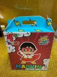 ryan toys review candy box