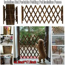 Tall Solid Wood Fence Pet Dog Cat Folding Exercise Yard Pet Isolation Fence Dog Barrier Safety Fence Buy At A Low Prices On Joom E Commerce Platform