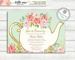 brewing bridal shower invitation