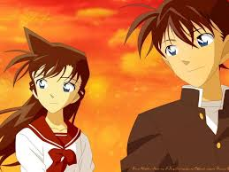 Detective Conan Ran And Shinichi Moments Wallpaper Detective Conan Photo  Shared By Salome1