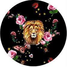 New Home Textiles Fashion Lion Circular Round Carpet Crystal Velvet Parlor Rug Large Floor Living Room Animal Printed Carpets Carpet Installation Mississauga Frieze Area Rugs From Blackhome 27 76 Dhgate Com