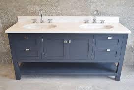 double vanity under mounted sink