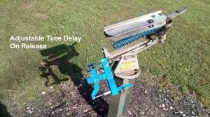 diy remote controlled clay trap release