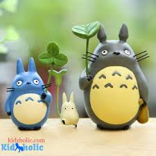 48 Off Totoro Anime Miniatures Figurines For Kids Room Decor