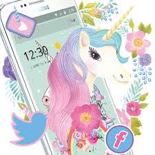 rainbow unicorn theme cute pink rose