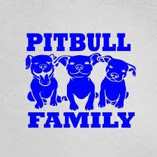 Pit Life With Pitbull Vinyl Decal Window Dog Pet Animal Family Love