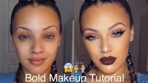 bold makeup tutorial viva glam kay