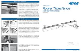 Router Table Fence Precision Assembly Instructions Kreg Tool Prs1020 User Manual Page 8 18