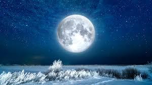Full Snow Moon in February 2020. Will ...