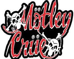 Motley Crue Decal Etsy
