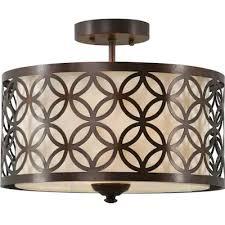 flush mount lighting oil rubbed bronze
