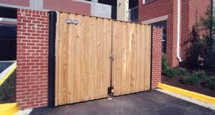 Consider A Dumpster Enclosure Long Fence